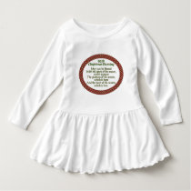 Irish Christmas Blessing, Red Green Celtic Holiday Dress