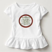 Irish Christmas Blessing, Red Green Celtic Holiday Toddler T-shirt