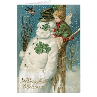 Irish Christmas Cards Authentic Vintage cards