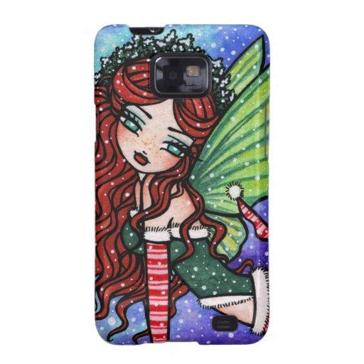 Irish Christmas Fae by Hannah Lynn Samsung Galaxy S Case