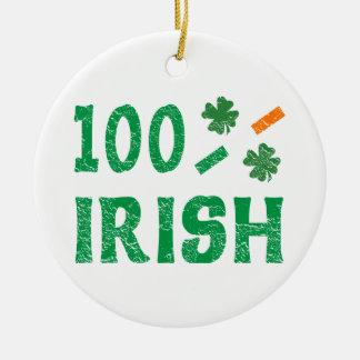 Irish Christmas Ornament