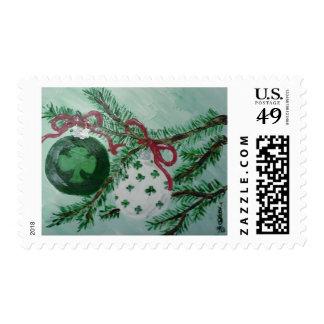 Irish Christmas ornaments Postage