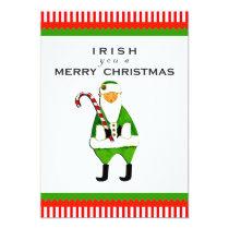 Irish Christmas Party Invitations