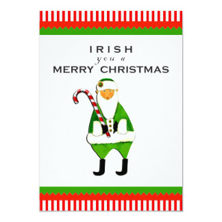 Irish Christmas Party Invitations