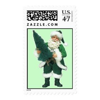 Irish Christmas Santa Claus Postage