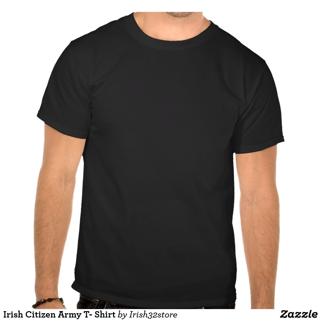 Irish Republican Army Posters Irish citizen army t- shirt