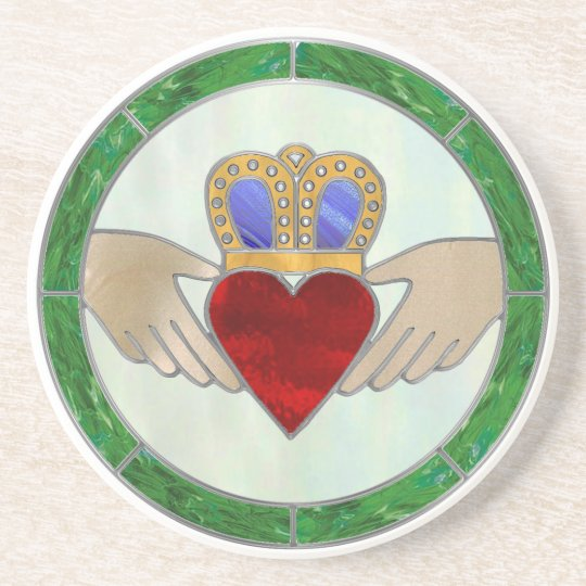 Irish Claddagh Coaster