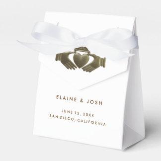 Irish Claddagh gift favor boxes