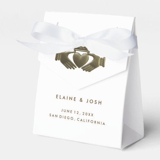 Irish Wedding Gift Ideas: Irish Claddagh Gift Favor Boxes