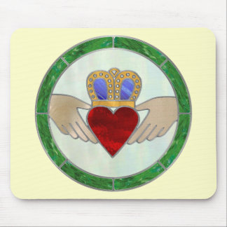 Irish Claddagh Mouse Pad