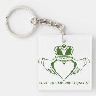 Irish Claddagh symbol Keychain