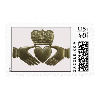 Irish Claddagh Symbol Postage