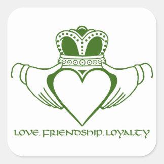 Love loyalty tattoo designs - Irish Claddagh Stickers 100 Custom Designs Zazzle