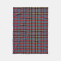 Irish Clan MacNamara McNamara Classic Tartan Fleece Blanket