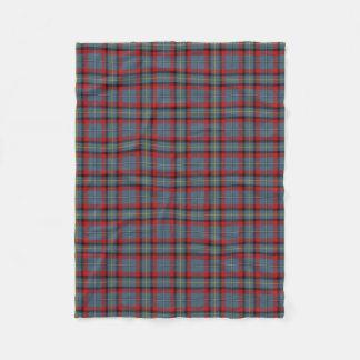 Irish Clan MacNamara McNamara Classic Tartan Fleece Blanket