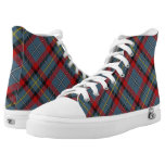 Irish Clan MacNamara McNamara Tartan Plaid High-Top Sneakers