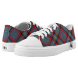 Irish Clan MacNamara McNamara Tartan Plaid Low-Top Sneakers