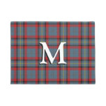 Irish Clan MacNamara Tartan Plaid Doormat