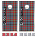 Irish Clan McNamara Tartan Dynasty Cornhole Set
