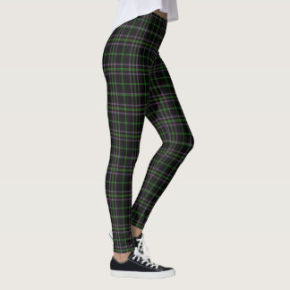 Irish Clan O'Boyle Boyle Tartan Plaid Leggings