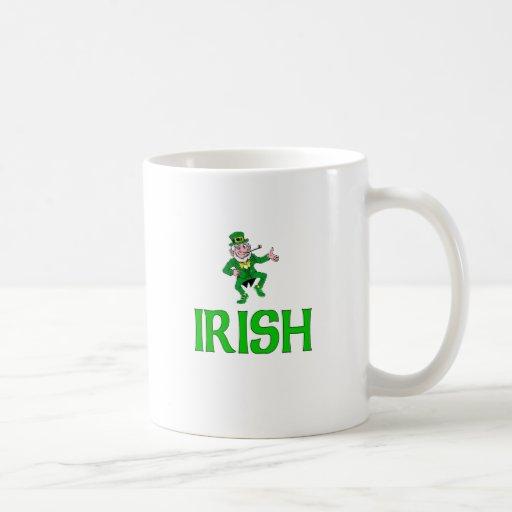 Irish Classic White Coffee Mug