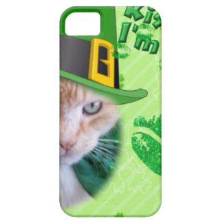 Irish Claude Cat iPhone SE/5/5s Case