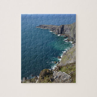 Irish Cliffs In Dingle Ireland By The Ocean Jigsaw Puzzle