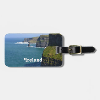 Irish Cliff's of Moher Bag Tag