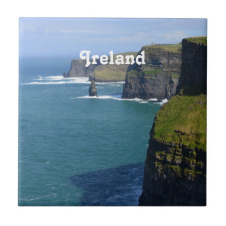 Irish Cliff's of Moher Ceramic Tile