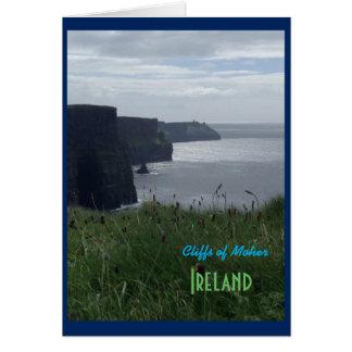 Irish Cliffs of Moher Ireland Card
