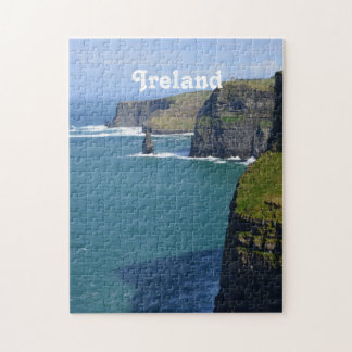 Irish Cliff's of Moher Jigsaw Puzzle