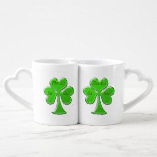 Irish Clover #1 Coffee Mug Set