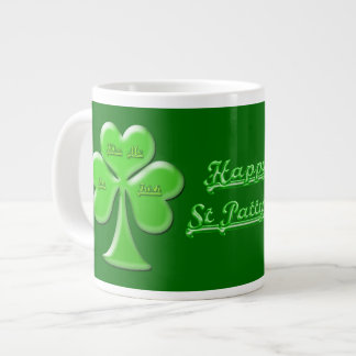 Irish Clover #1 Giant Coffee Mug