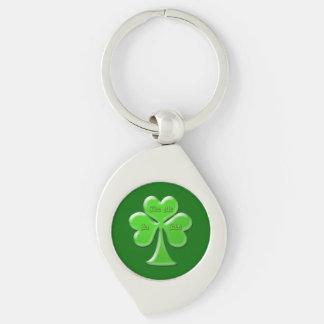 Irish Clover #1 Keychain