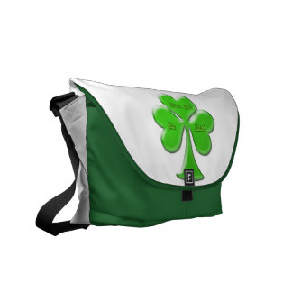 Irish Clover #1 Messenger Bag
