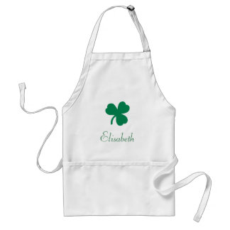 Irish Clover Apron
