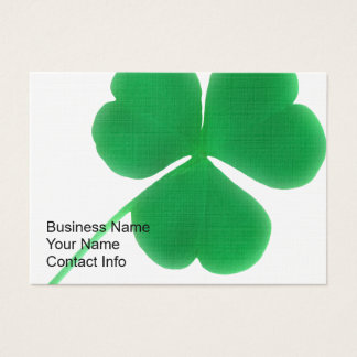 Irish Clover Business Cards