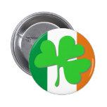 Irish Clover Flag Pins