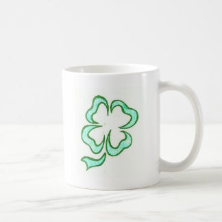 irish clover  henna coffee mug