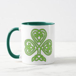 Irish clover lucky luck shamrock Ireland green Mug