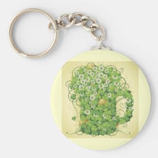 Irish clover mug greens cartoon plantes fun drinks keychain