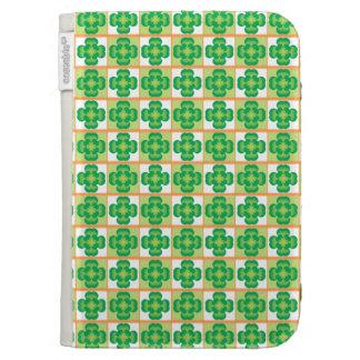 Irish Clover Pattern Kindle Case