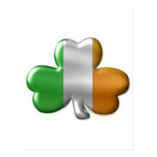 irish clover postcard