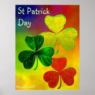Irish Clover Print