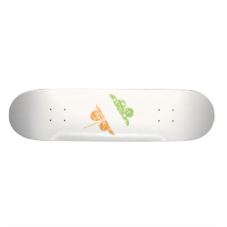Irish Clover Skateboard Deck