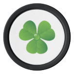 Irish clover St. Patrick's Day custom Poker Chips