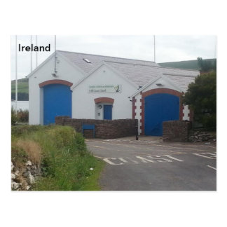 Irish Coast Guard Station, Dingle, Kerry, Ireland Postcard