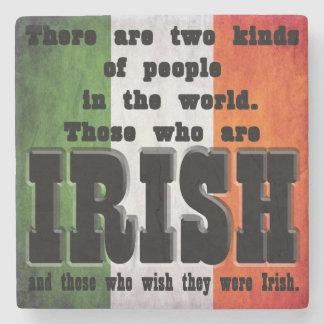 Irish Coasters, 2 Kinds Of People, Ireland, Stone Coaster