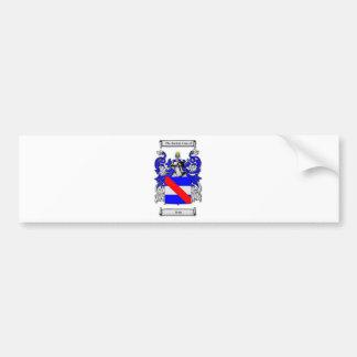 Irish Coat of Arms Bumper Sticker
