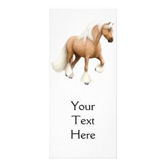 Irish Cob Horse Rack Card